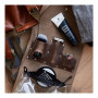 OneBlade Leather Dopp kit in Brown